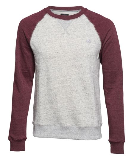 Element Meridian Crew Cotton-Blend Crewneck Jumper