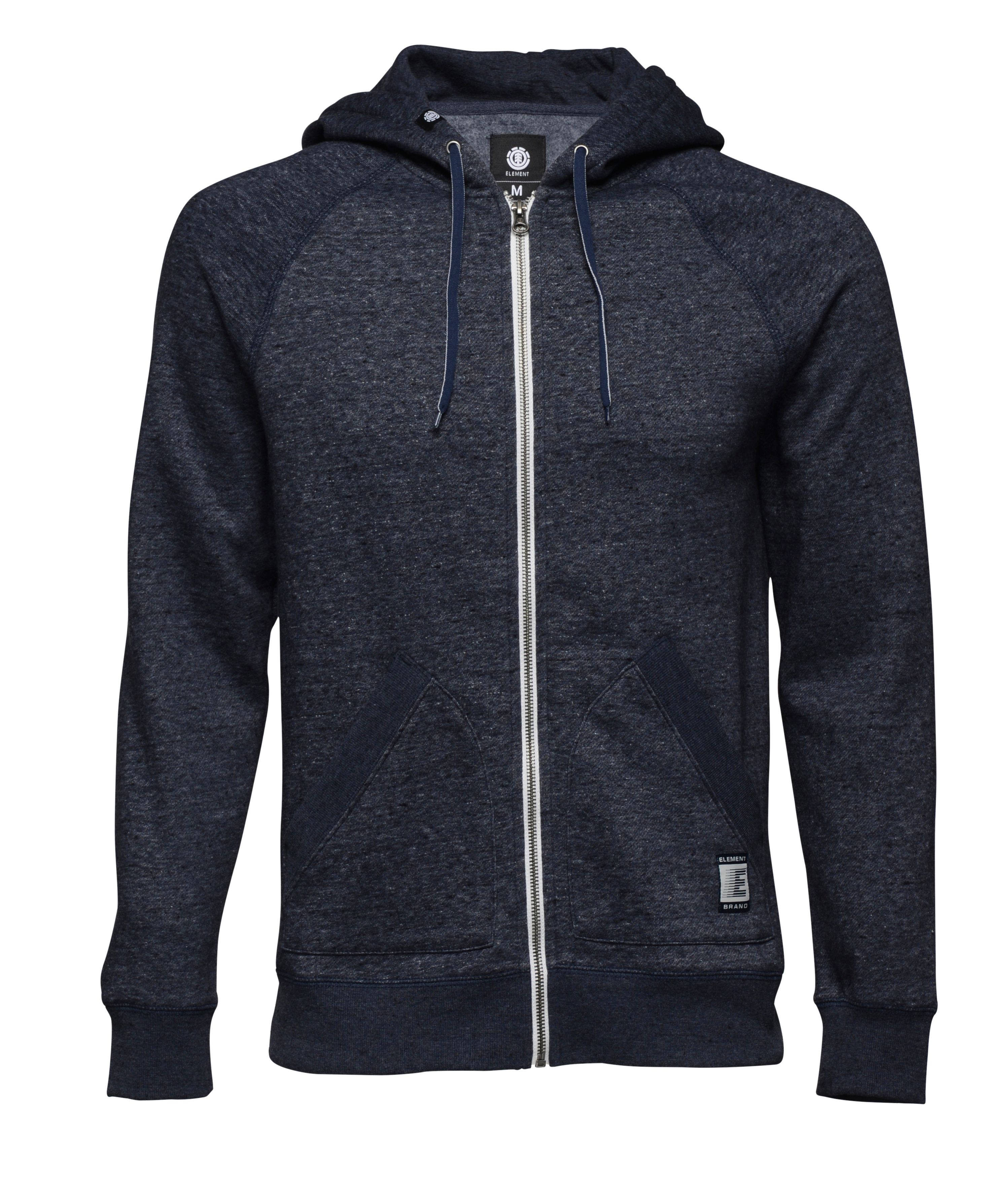 Men's Element Zip Hood Fleece, Indigo