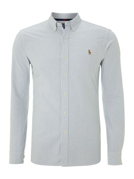 Polo Ralph Lauren Slim-Fit Striped Oxford Shirt