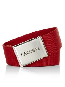 Lacoste L12.12 Concept Woven Belt With Gift Box