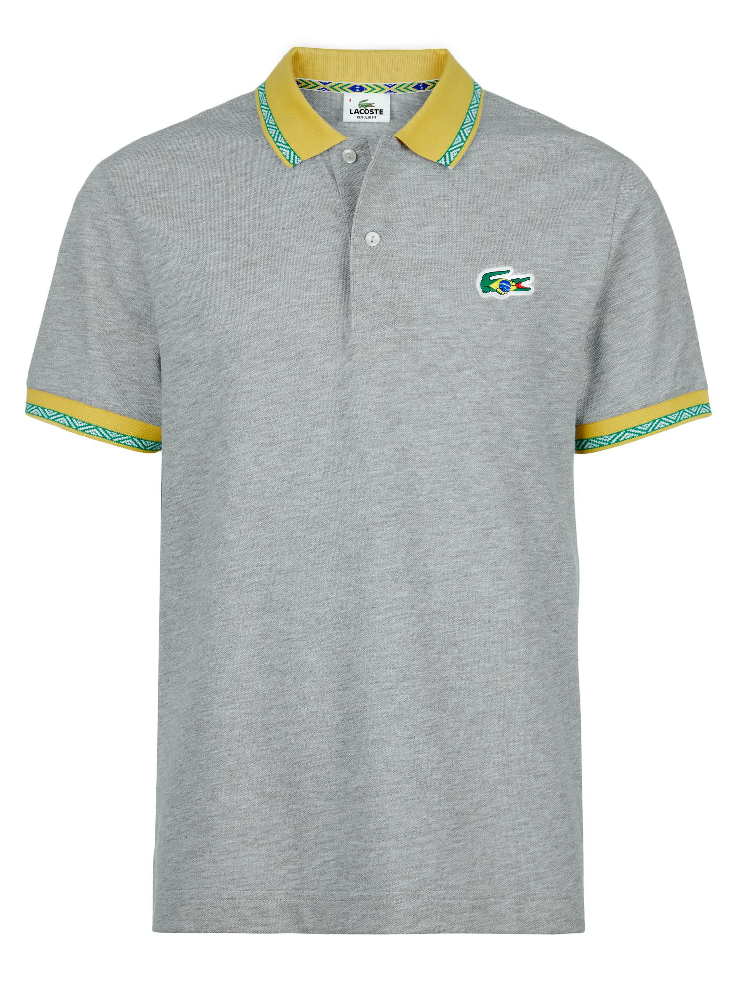 Brazil themed polo shirt
