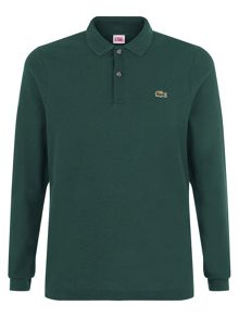 Regular fit long-sleeve polo