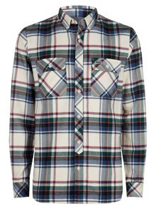 Ultra Slim Fit Large Check Shirt