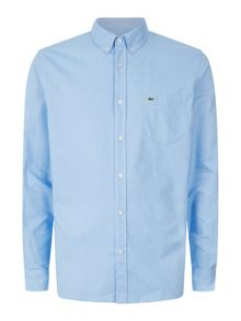 Regular Fit Single-Color Shirt