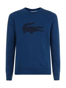 Crocodile print sweatshirt
