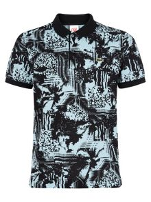 Slim Fit Printed Polo