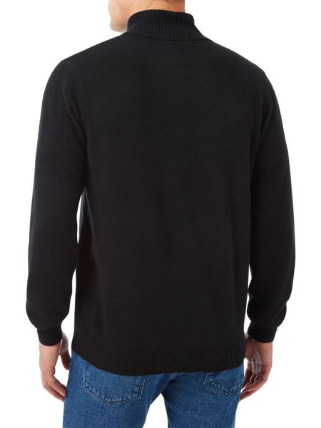 Lacoste Full Zip High Collar Sweater