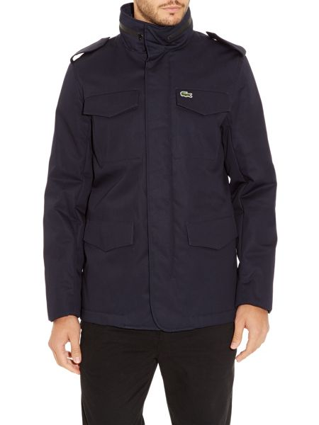 Lacoste Double pocket parka
