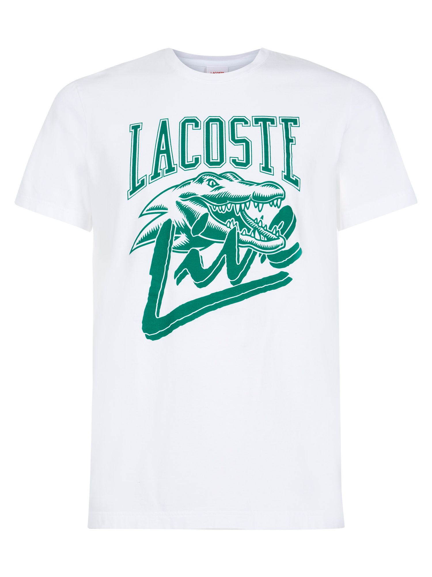 Lacoste L!VE printed t-shirt