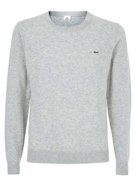 Lacoste Crew neck wool sweater