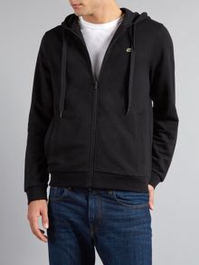 Zip hooded sweater