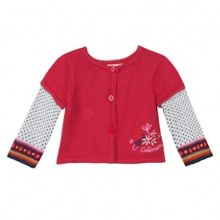 Girls playful piece: jumper or cardigan