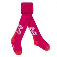 Girls essential fuchsia tights