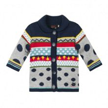 Girls must have multicoloured knit coat