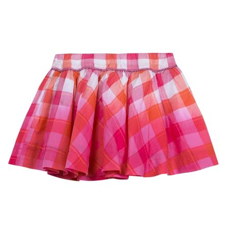 Catimini Girls dip-dye voile skirt