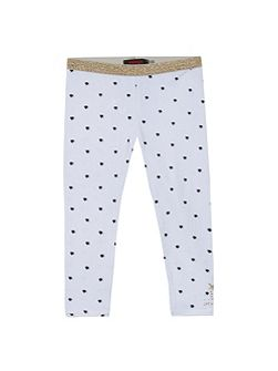Girls mini-polka dots legging
