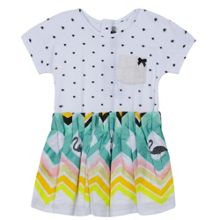 Catimini Girls adorable printed dress