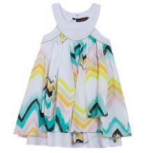Catimini Girls iconic scarf dress