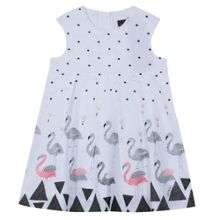 Catimini Girls elegant and structured voile dress