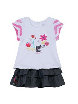 Girls Minette Moustachette outfit