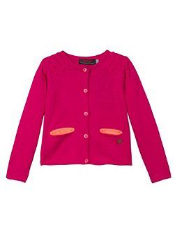 Girls elegant and refined cardigan