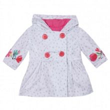 Catimini Girls trench coat-style raincoat