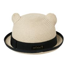 Catimini Girls straw hat