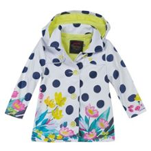 Catimini Girls must-have rubber raincoat