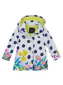 Girls must-have rubber raincoat