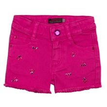 Catimini Girls colour denim short