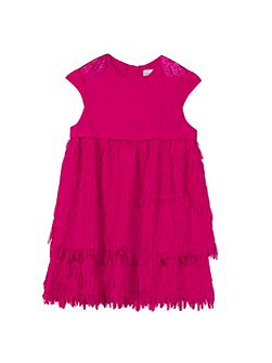 Girls straight cut Couture dress