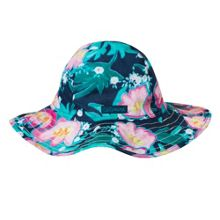 Catimini Girls printed voile sun hat