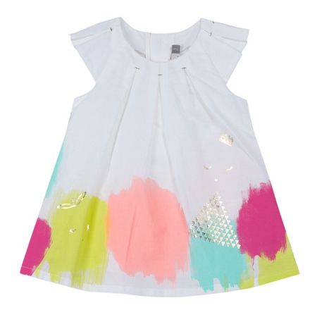 Catimini Girls chic and refined voile dress