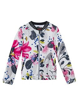 Girls must-have printed jacket