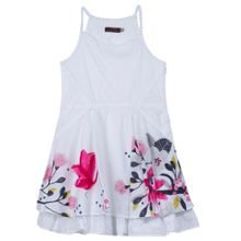 Catimini Girls must-have dress with thin straps