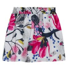 Catimini Girls printed viscose skirt