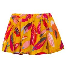 Catimini Girls Feathers printed skirt