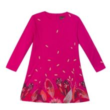 Catimini Girl printed jersey dress