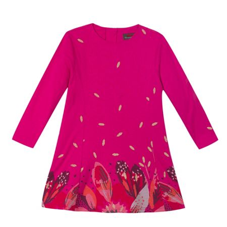 Catimini Girls printed jersey dress
