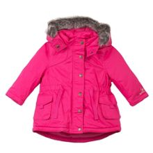 Catimini Girls satin shell parka