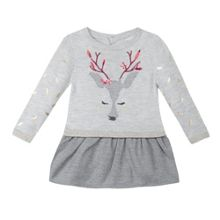 Catimini Baby girls deer dress