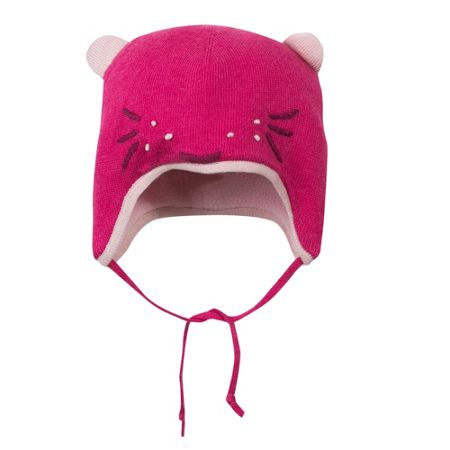 Catimini Baby girl animal bonnet