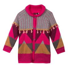 Catimini Girls knitted overcoat