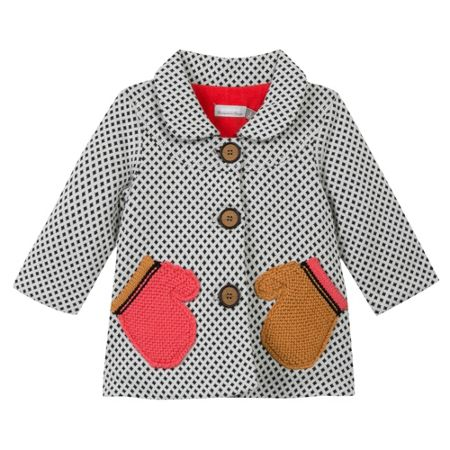 Catimini Baby girls knitted coat