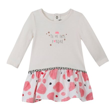 Catimini Baby girls polka-dot dress
