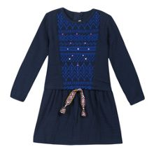 Catimini Girl embroidered dress