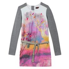 Catimini Girls Photoprint jersey dress