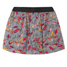 Catimini Girls leaf-print skirt