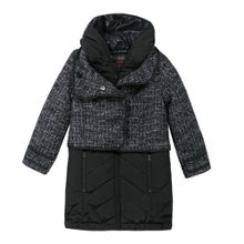 Catimini Girls long puffer jacket