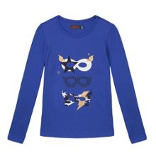 Catimini Girl long sleeve Masks T-shirt
